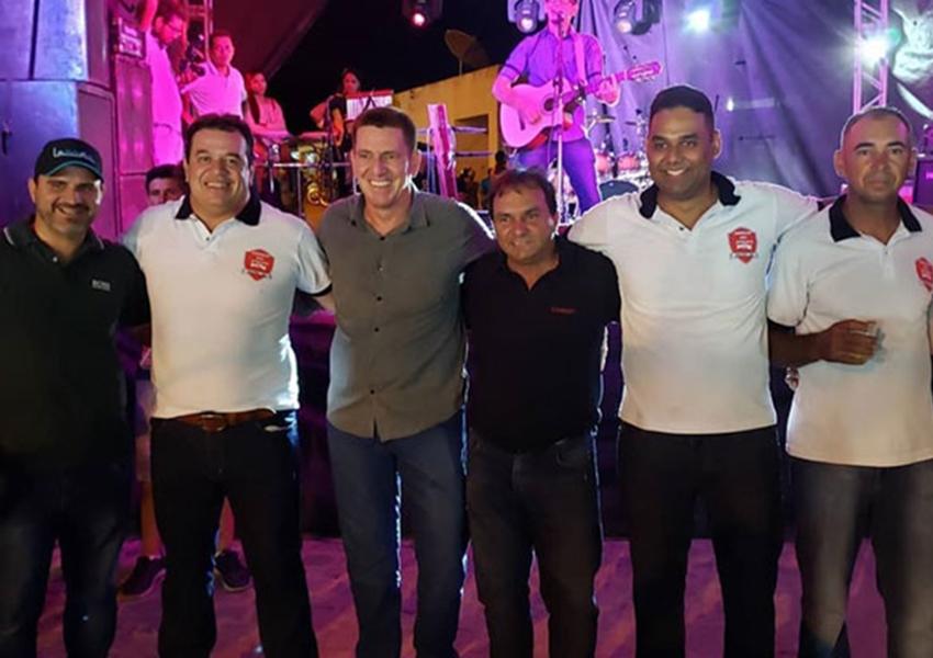 Mirante: Deputado Marquinho Viana comemora obras em Passagem Molhado