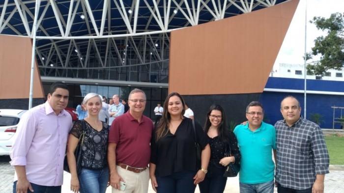 Secretário da Saúde da Bahia inspeciona obras de mais quatro policlínicas no interior