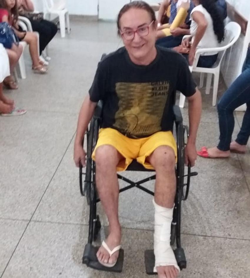 Celebridade dos áudios: Guila sofre acidente de moto em Livramento