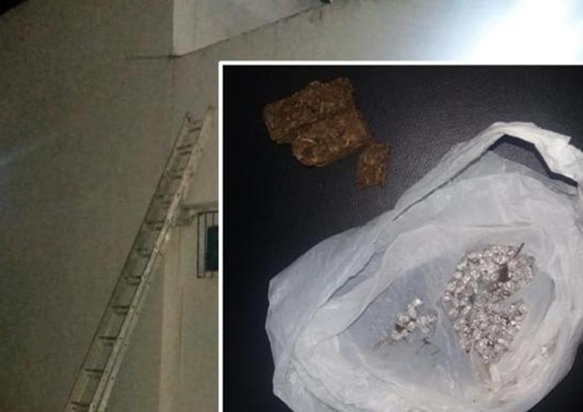 Livramento: Homem pula muro de delegacia e tenta arremessar sacola com drogas aos presos