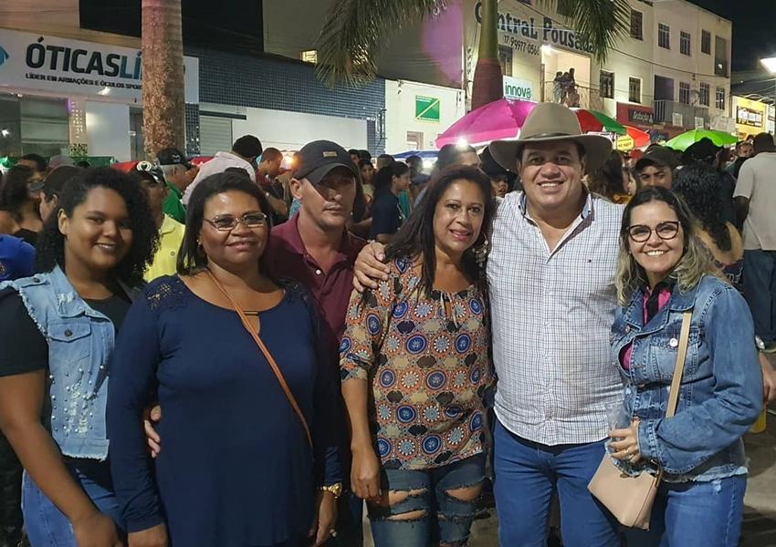Deputado Marquinho Viana participa da cavalgada das Amigas das Cavalgadas