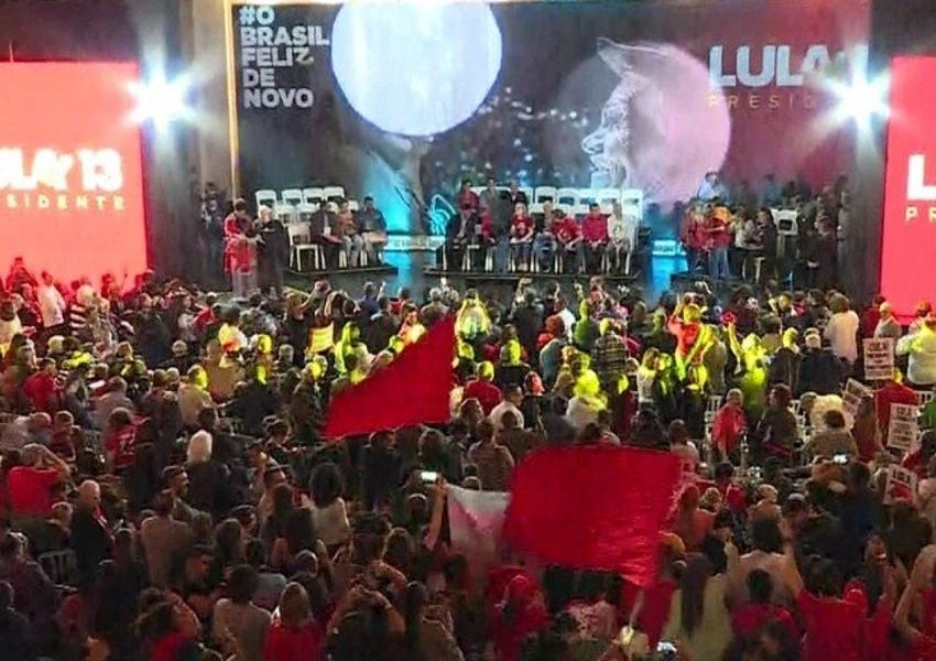 Lula é confirmado como candidato do PT à Presidência da República
