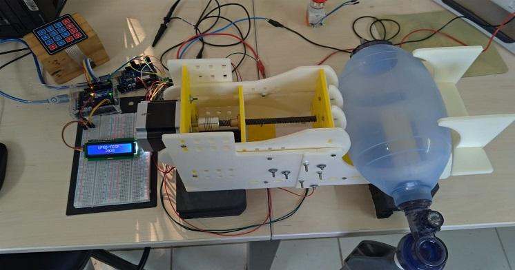 Livramentense integra grupo de desenvolvimento a produção de respirador artificial