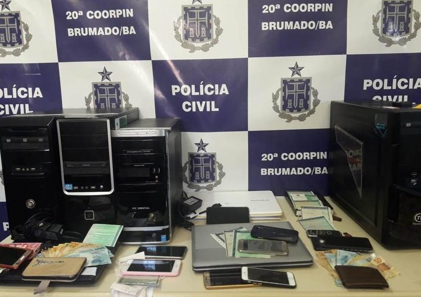 Brumado: Operação contra esquema de desvio envolvendo órgão de trânsito e empresa prende 10 pessoas