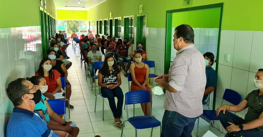 Deputado Marquinho Viana confirma o abastecimento de água para povoados de Ituaçu