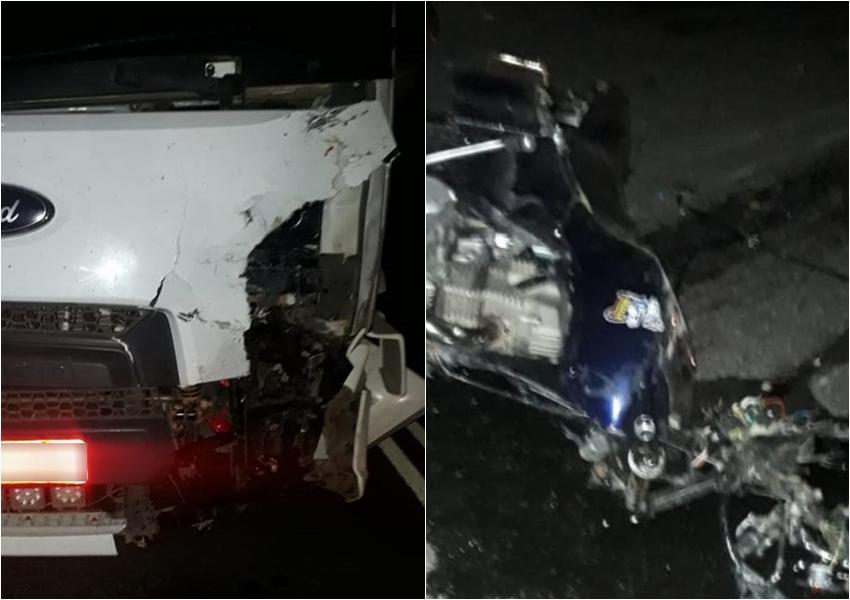 Motociclista morre após bater de frente com caminhão entre Brumado e Aracatu