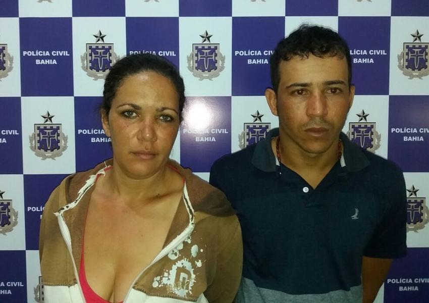 Casal é preso suspeito de tráfico de drogas em Vitória da Conquista
