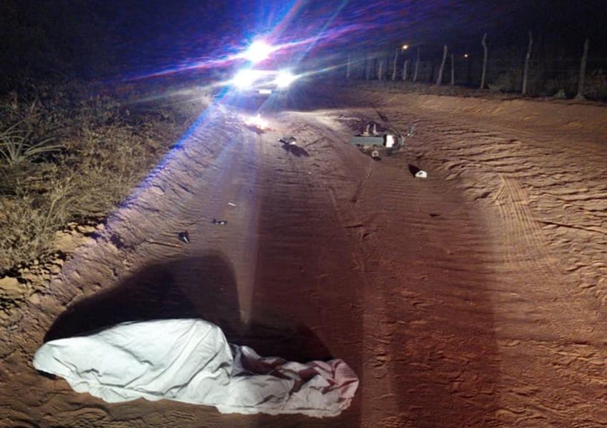 Livramento: Homem morre após ser atropelado no povoado de Várzea Grande