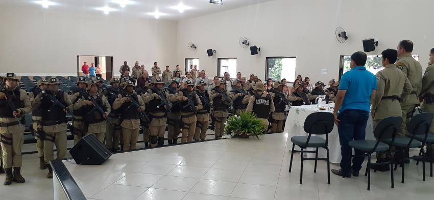 Policiais da 46ª CIPM concluíram curso de preparação CBETO em Livramento
