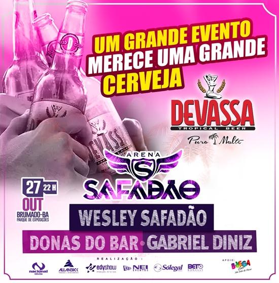 Devassa Puro Malte será a cerveja oficial da Arena Safadão
