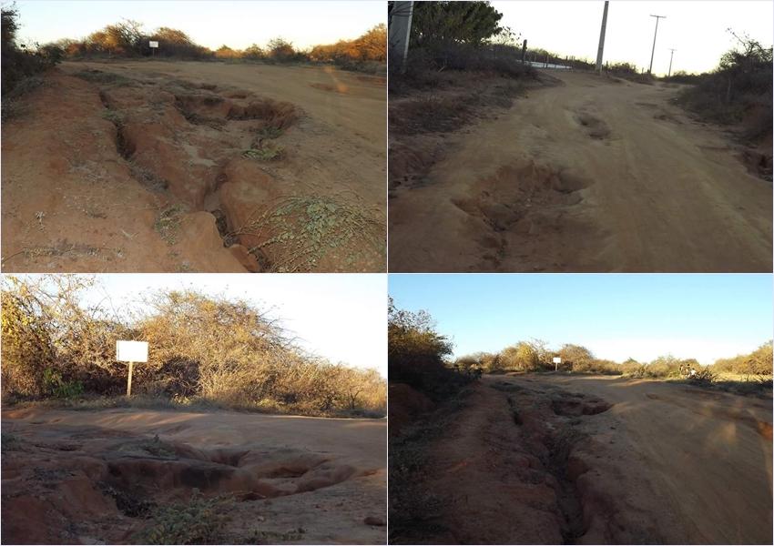 Comunidade de Lagoa da Pedra faz denuncia contra precariedade das estradas vicinais