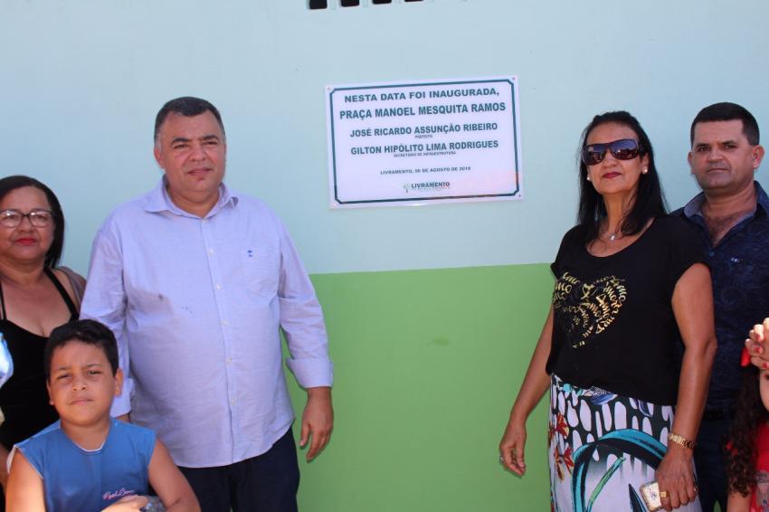 Livramento: Praça Manoel Mesquita Ramos é inaugurada no Bairro Taquari