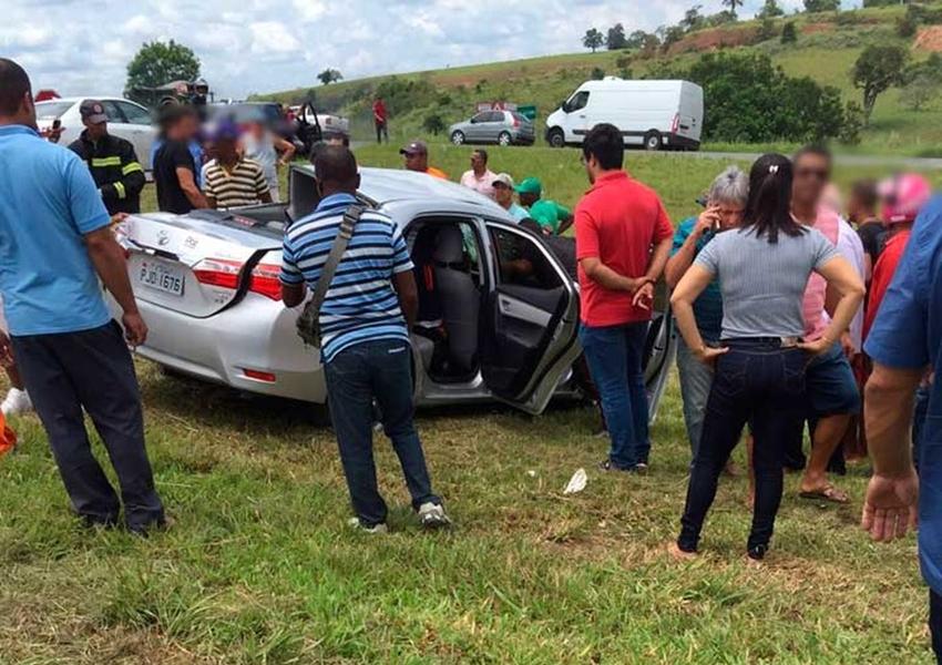 Motorista de 90 anos morre e esposa fica ferida em acidente na BR-101