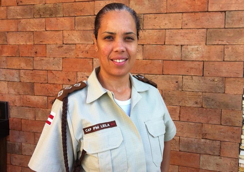 Capitã com passagem pela 46ª CIPM de Livramento é promovida pela Polícia Militar da Bahia ao posto de Major PM