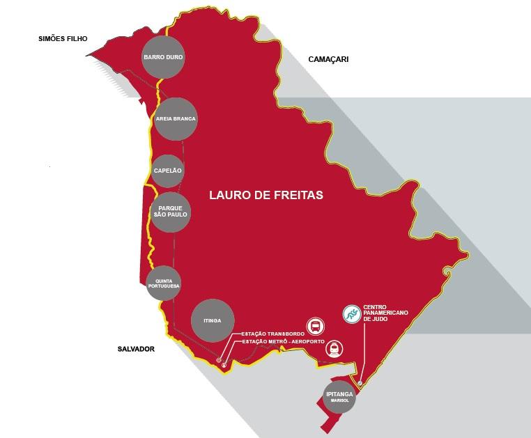 Luciano Ribeiro opina sobre divisão territorial entre os municípios de Salvador e Lauro de Freitas - abordado em projeto de lei que tramita na CCJ