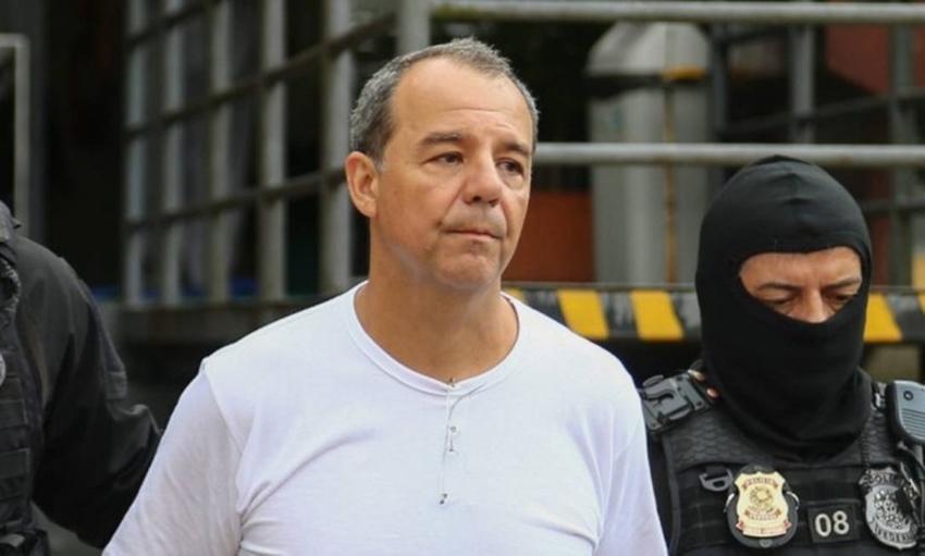 Por regalias no RJ, MP pede transferência de Cabral para Curitiba