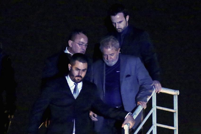 Supremo recebe novo recurso da defesa para ex-presidente Lula ser solto
