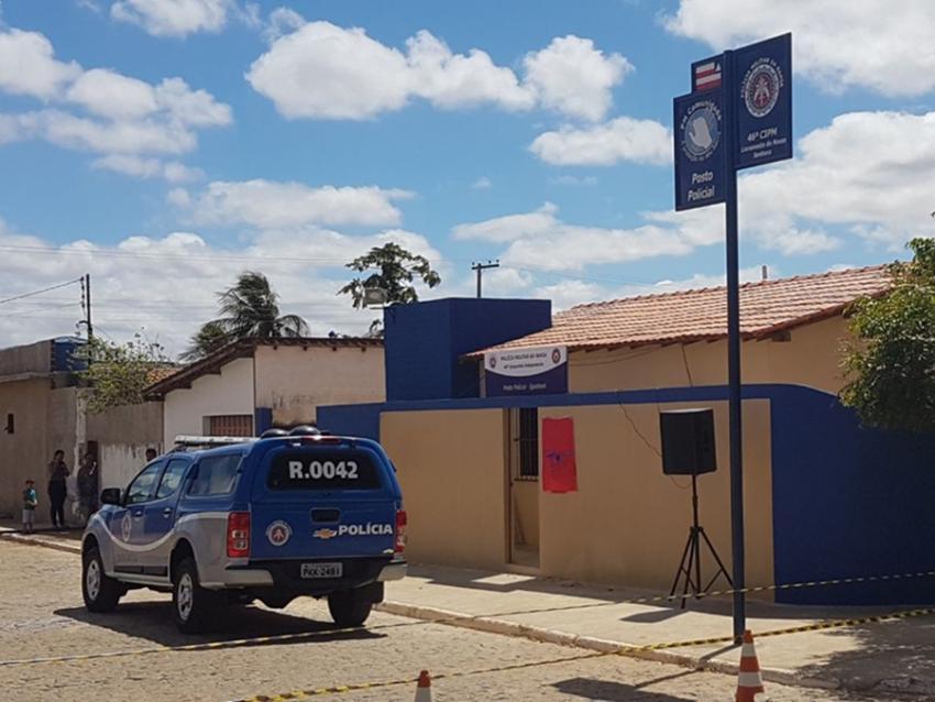 Inaugurado posto da Polícia Militar no distrito de Iguatemi