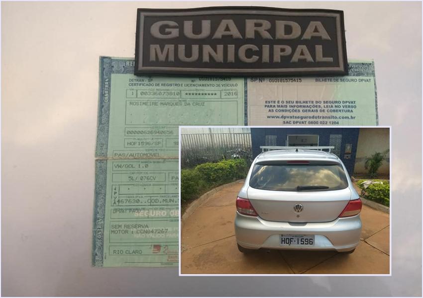 Guarda Municipal de Paramirim recupera veículo ou Roubo