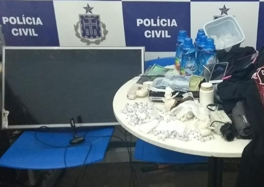 Brumado: Polícia Civil apreende drogas e recupera roupas furtadas