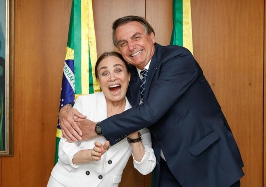 Regina Duarte deixa o cargo de secretária especial de Cultura