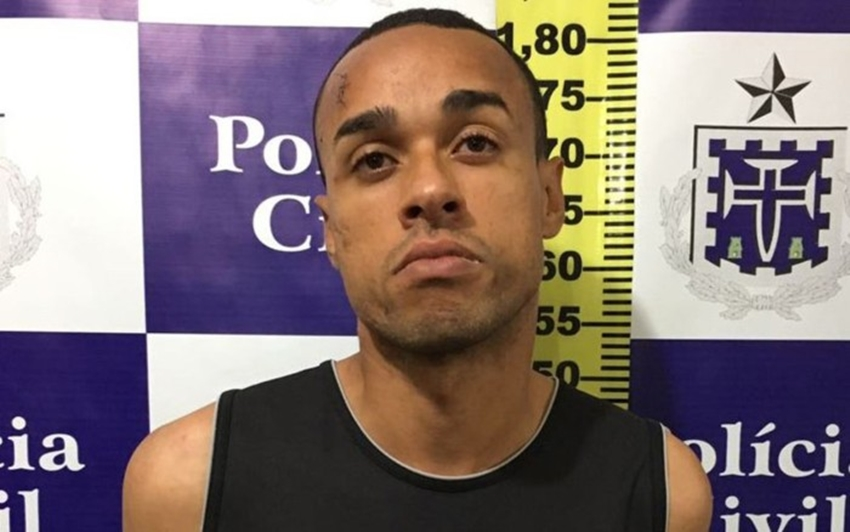 Suspeito de matar motorista do Uber foi preso após sofrer acidente em Feira de Santana