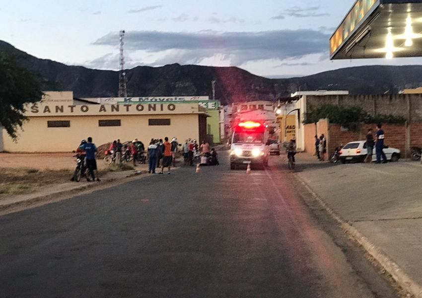 Livramento: Homem fica ferido após acidente com moto