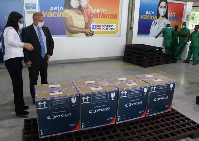 Bahia recebe primeiras doses de vacina contra Covid-19 da Pfizer/ BioNTech