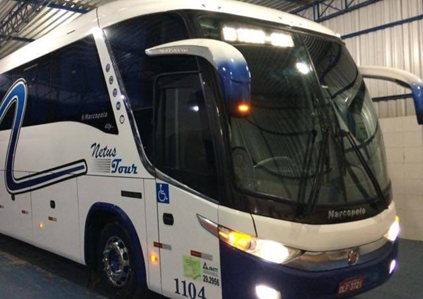 Viajar com conforto e segurança é com a Netus Tour; excursão comercial exclusiva para lojistas e sacoleiros
