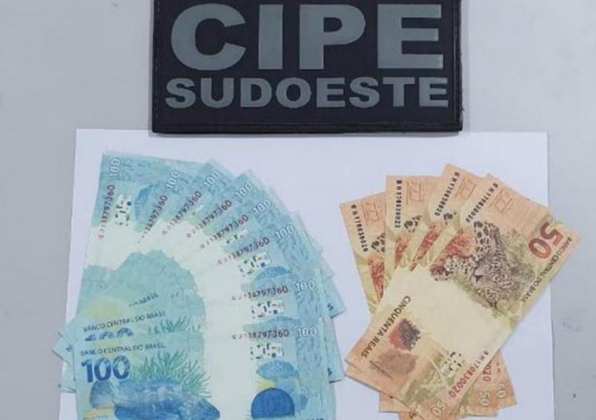 Botuporã: Homem é preso acusado de distribuição e compra de cédulas falsas de dinheiro