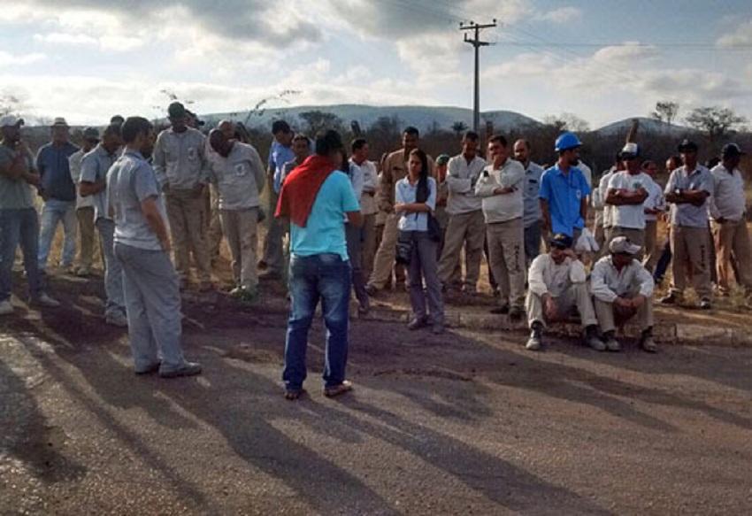 Ituaçu: Trabalhadores da empresa Itaguarana mantém greve por tempo indeterminado