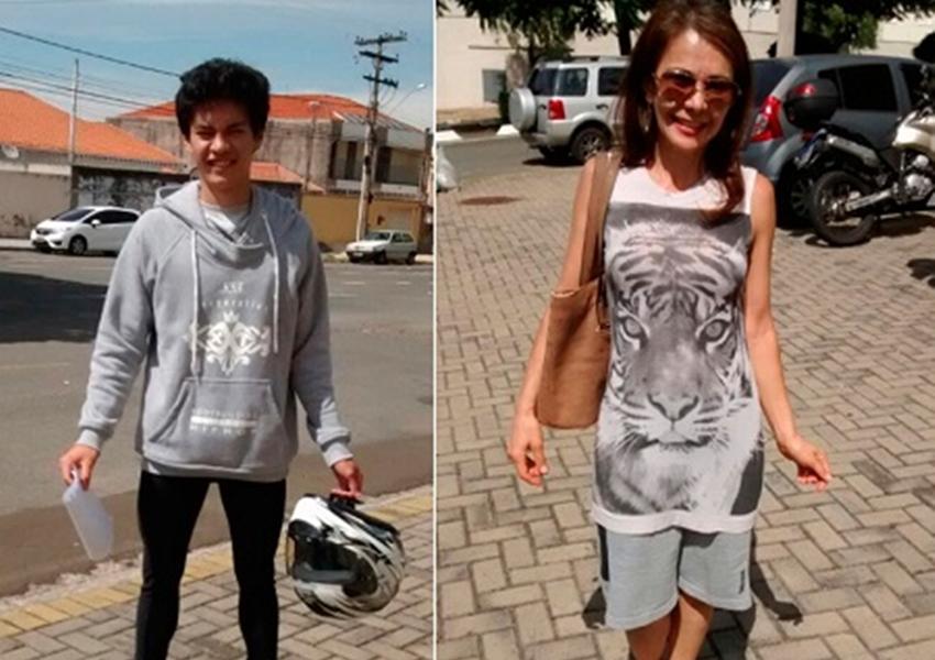 Barrado pelo Detran, rapaz troca roupa com mãe e viraliza na web