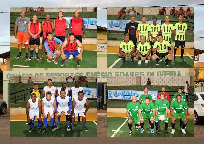 Em alusão ao Novembro Azul SESAU realizou torneio no ginásio de esportes Enésio Soares