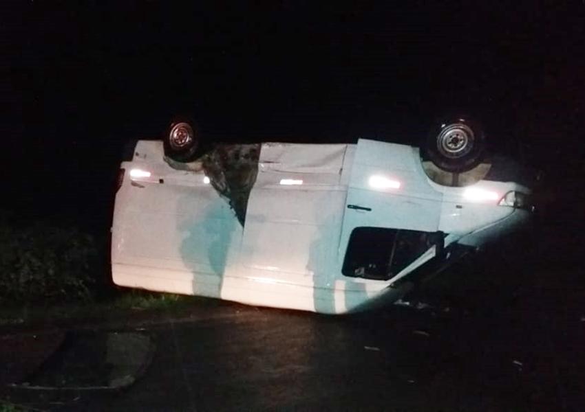 BA-152: Acidente é registrado na 'Curva da Horta' na noite deste sábado em Livramento