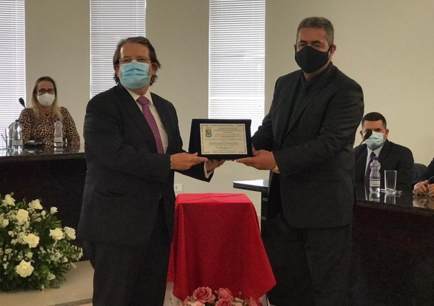 Presidente do TRE-BA recebe Título de Cidadão Livramentense