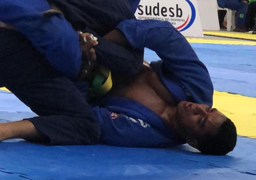 Soldado da Cipe Polo com passagem pela 46ª CIPM em Livramento, vence torneio de Jiu-Jitsu