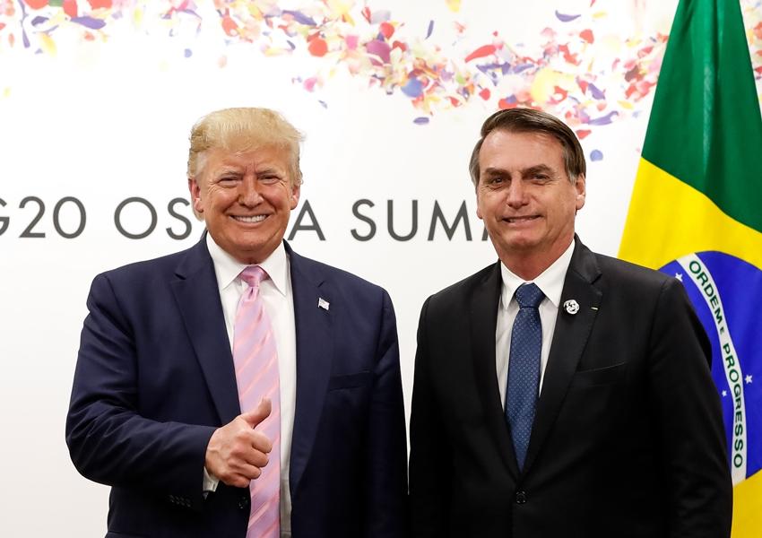 No G20, Bolsonaro se reúne com Trump: 'Temos muita coisa em comum'