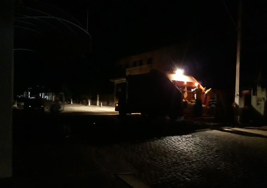 Apagão causou transtornos gerando prejuízos no município de Livramento; Comerciantes tiveram que fechar as portas mais cedo