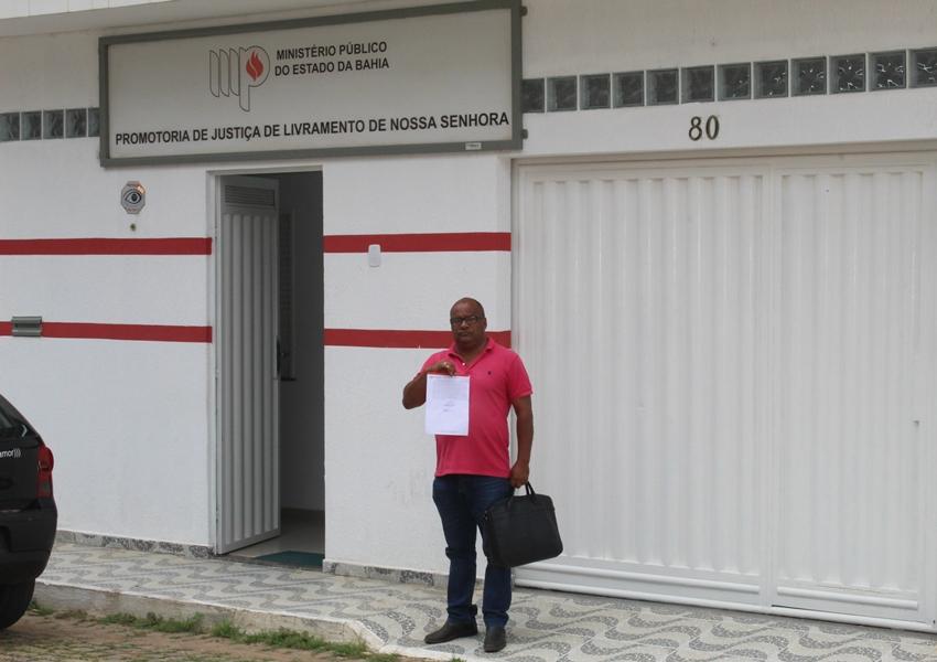 Vereador João de Ogum participa de audiência no Ministério Público