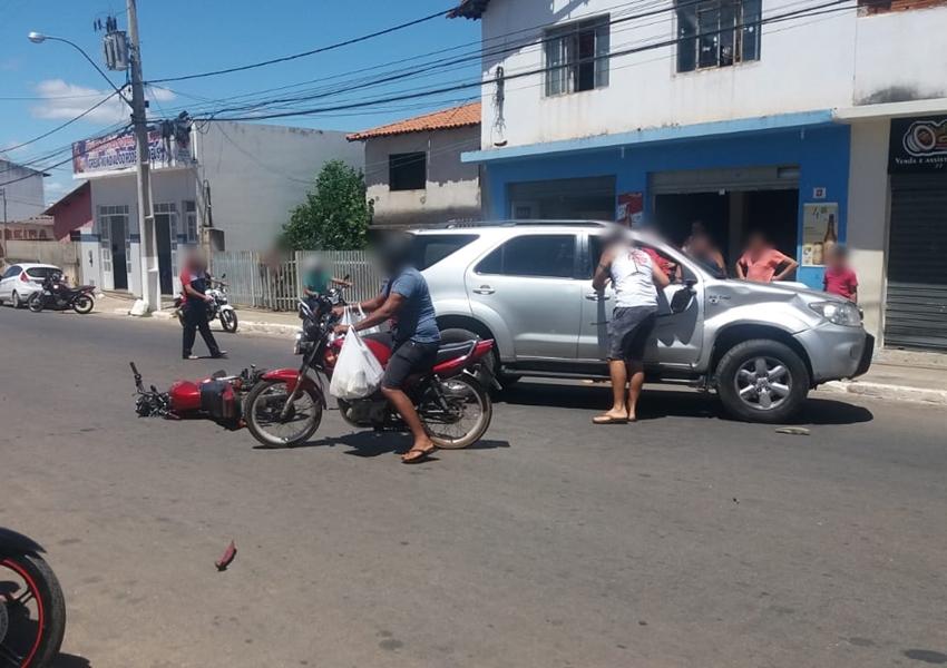 Livramento: Mais um acidente é registrado na Avenida Leônidas Cardoso