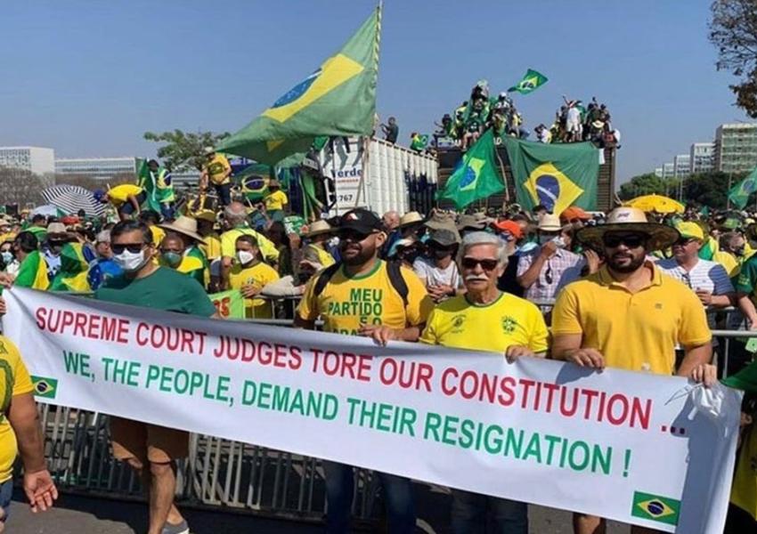 Prefeito de Brumado não participa do 7 de Setembro no município e sim o de Brasília