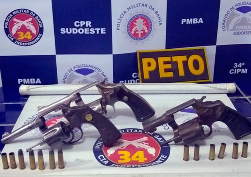 Polícia Militar detalha ação do confronto que terminou com a morte de três indivíduos