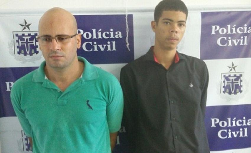 Assaltantes são presos após invadir agência bancária e render gerente em Salvador