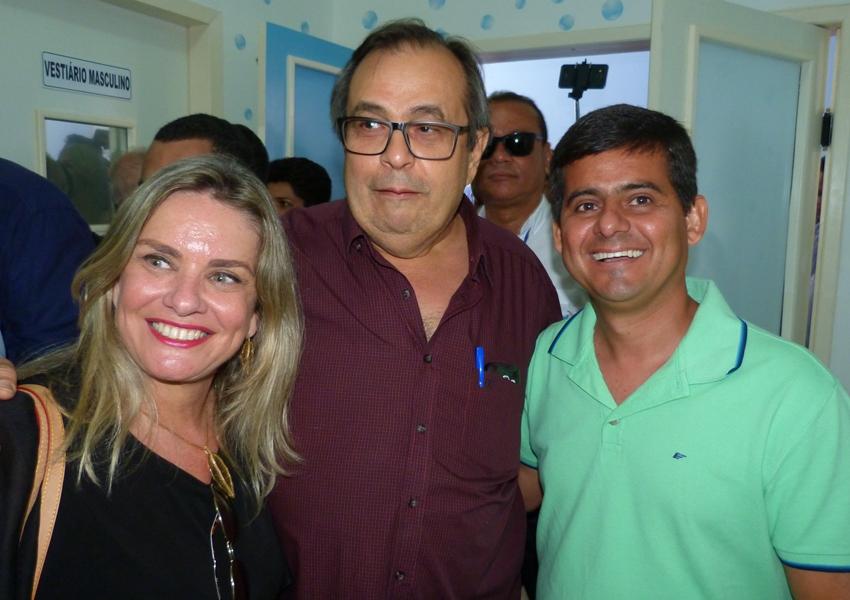 Ex-prefeito de Livramento Carlos Batista prestigia visita do Governador em Brumado