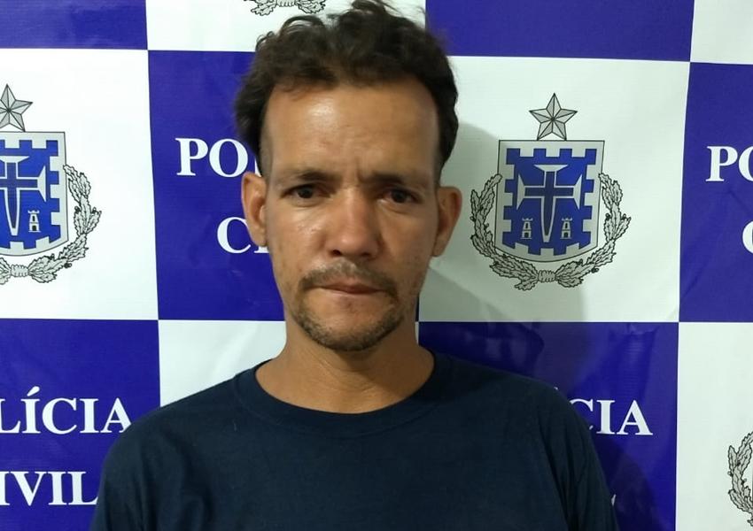 Polícia Civil prende homem que furtou objetos de residência no Bairro Benito Gama