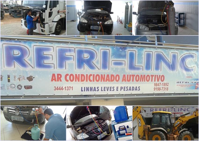 Visite e conheça a Refri Linc Ar Condicionado automotivo