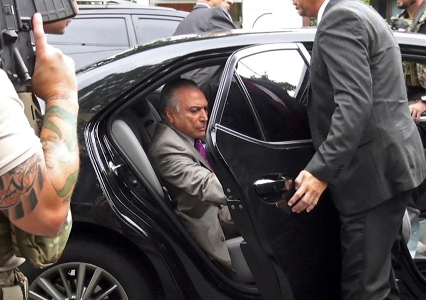 TRF2 determina soltura do ex-presidente Michel Temer