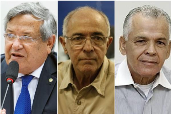 Benito, Aleluia e Medrado se aposentam com salário de R$ 20 mil mensais
