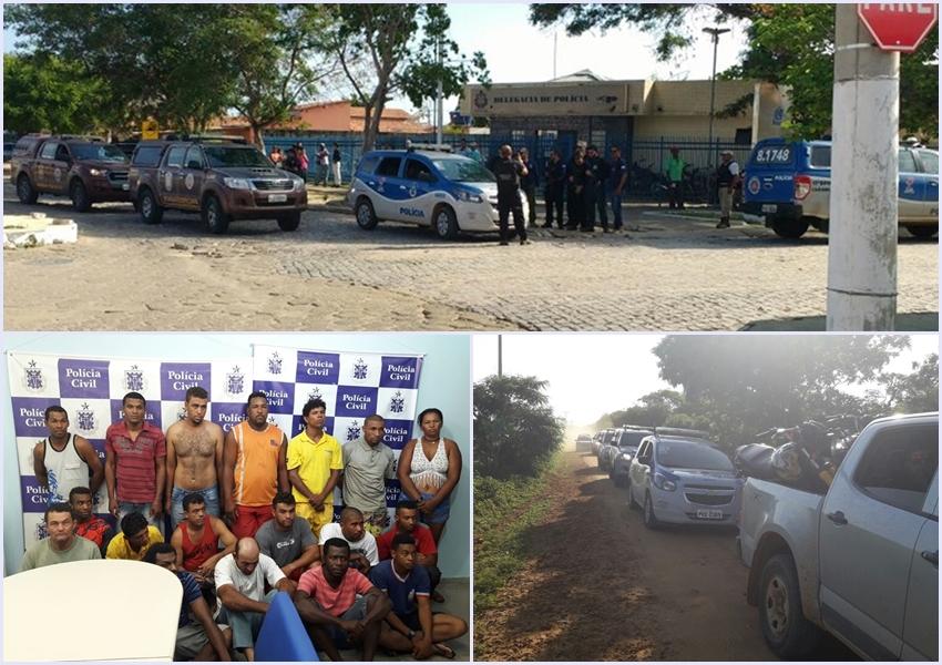 Operação conjunta prende 18 ladrões de gado nos municípios de Malhada e Carinhanha