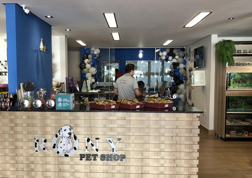 Inaugurado o novo espaço Rony Pet Shop em Livramento